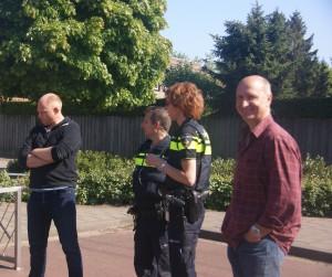 Klachten afhandeling met Politie bewoners en kids.